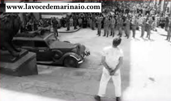 4.9.1943 esecuzione Marinaio Andrea Mansi (4 giornate di napoli) - www.lavocedelmarinaio.com