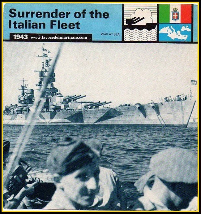 8.9.1943 SURRENDER FLEET