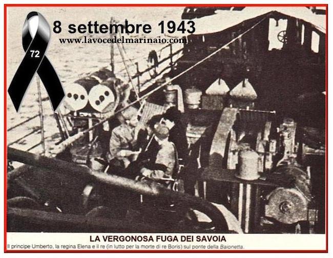 8.9.1943 la fuga dei savoia - www.lavocedelmarinaio.com