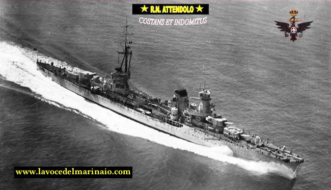 9.9.1934 varo regia nave ATTENDOLO - www.lavocedelmarinaio.com