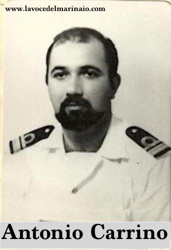 Antonio Carrino maggiore del Genio Navale (2.10.1934 - 11.9.1970) - www.lavocedelmarinaio.com