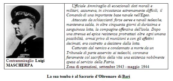 Contrammiraglio Luigi Mascherpa - www.lavocedelmarinaio.com