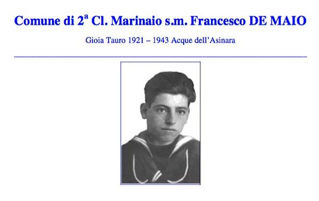 Francesco De Maio - www.lavocedelmarinaio.com -p.g.c. Giuseppe Magazzù