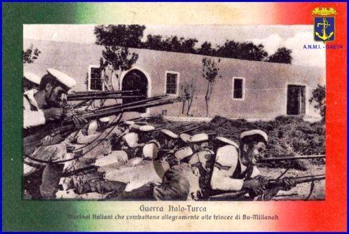 La guerra italo-turca f.p.g.c. Carlo Di Nitto a www.lavocedelmarinaio.com