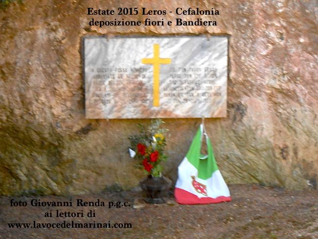 Leros - Cefalonia - Monumento ai caduti per la Patria (fto Giovanni Renda p.g.c. a www,la vocedelmarinaio.com