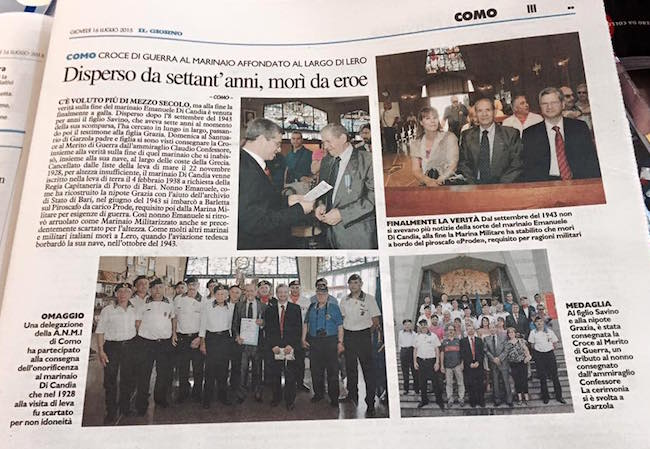 emanuele-di-candia-recensione-su-il-giorno-www.lavocedelmarinaio.com_