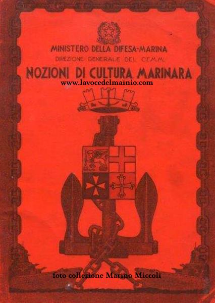 nozioni cultura marinara 1960