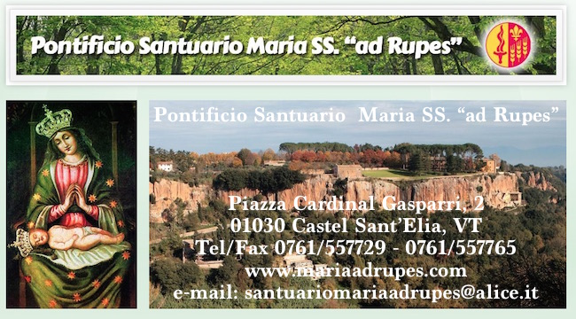 Santuario Santa Maria ad Rupes - Castel S. Elia (VT) - www.lavocedelmarinaio.com