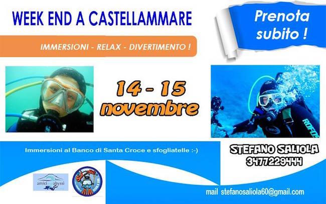 14-15 a Castellammare di Stabia immersioni con A.N.I.S. - www.lavocedelmarinaio.com