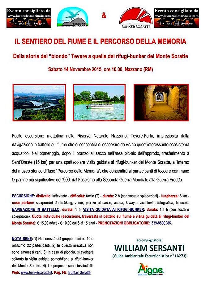 14.11.2015 visita al bunker soratte - www.lavocedelmarinaio.com