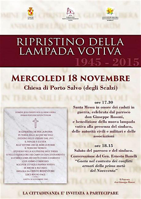 18.11.2015 a Gaeta - www.lavocedelmarinaio.com
