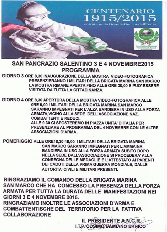 3-4.11.2015 a San Pancrazio Salentino - www.lavocedelmarinaio.com