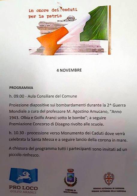 4.11.2015 a Golfo Aranci - www.lavocedelmarinaio.com
