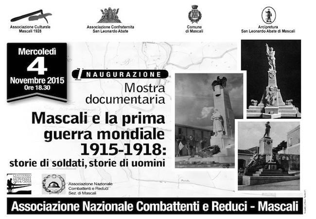 4.11.2015 a Mascali mosra documentaria prima guerra mondiale www.lavocedelmarinaio.com