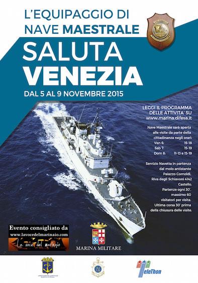 5-9.11.2015 nave Maestrale a Venezia - www.lavocedelmarinaio.com