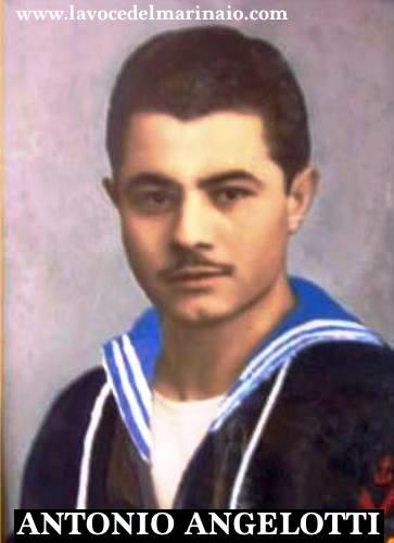 Antonio Angelotti marinaio scelto - www.lavocedelmarinaio.com