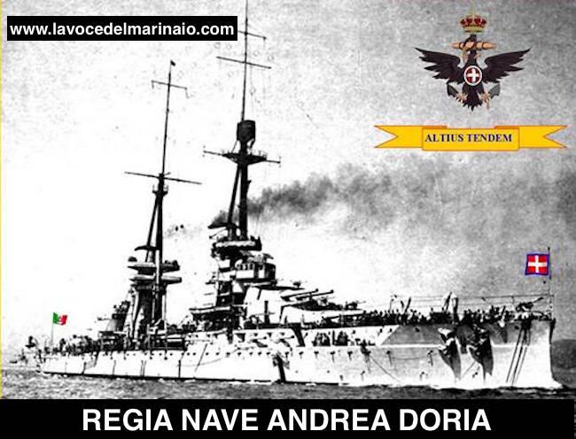 Filippo angelotti la voce del for Andrea doria nave da guerra