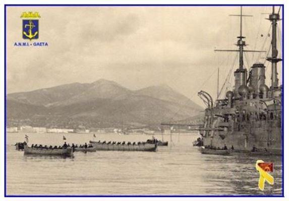 Regia nave Brin e scialuppe f.p.g.c. Carlo di Nitto - www.lavocedelmarinaio.com