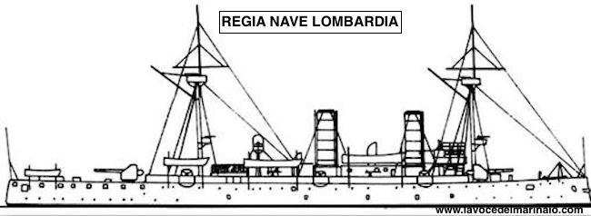 Silhouette regia nave Lombardia - www.lavocedelmarinaio.com