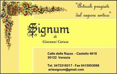 signum Venezia - www.lavocedelmarinaio.com