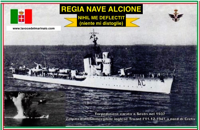 11.12.1941, Nave Alcione - www.lavocedelmarinaio.com