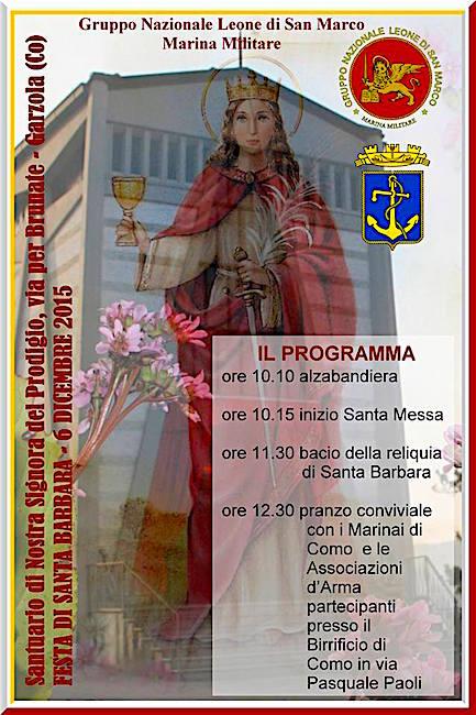 6.12.2015 Santa Barbara a Garzola - www.lavocedelmarinaio.com