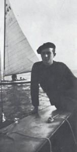 Agostino Straulino in una foto d'epoca - www.lavocedelmarinaio.com