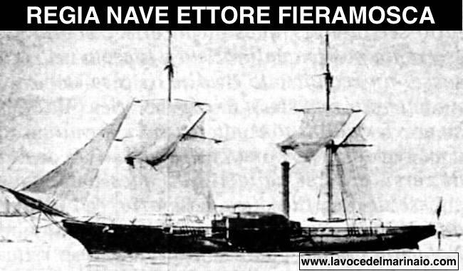 regia nave Ettore Fieramosca - www.lavocedelmarinaio.com