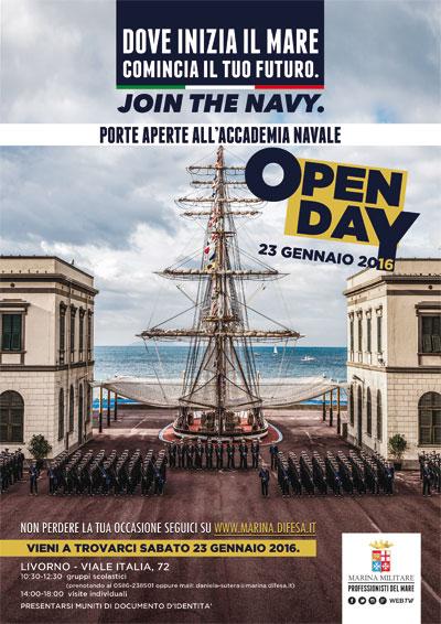 23.1.2016 a Livorno Accademia navale Open day  www.lavocedelmarinaio.com