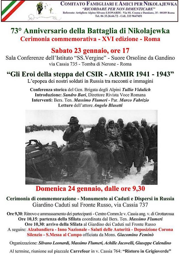 23.24.1.2016 a Roma - www.lavocedelmarinaio.com