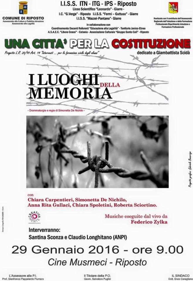 29.1.2016 a Riposto  I luoghi della memoria - www.lavocedelmarinaio.com