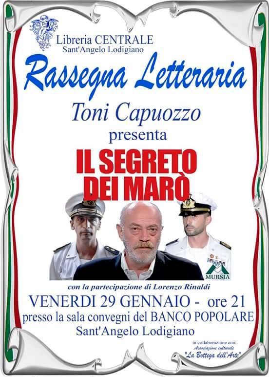 29.1.2016 a Sant'Angelo LOdigiano , toni Capuozzo - www.lavocedelmarinaio.com