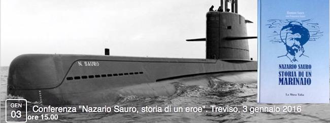 3.1.2016 a Treviso congerenza su Nazario Sauro - www.lavocedelmarinaio.com