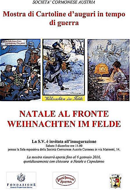 5.12.2015 - 6.1.2016 A CREMONA natale al fronte - www.lavocedelmarinaio.com