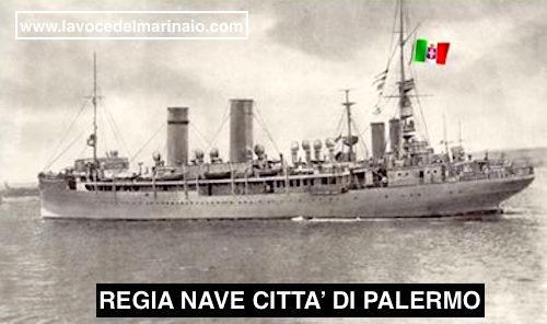 8.1.1916 Regia nave Città di Palermo