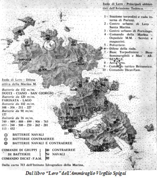 Lero l'isola degli eroi - www.lavocedelmarinaio.com