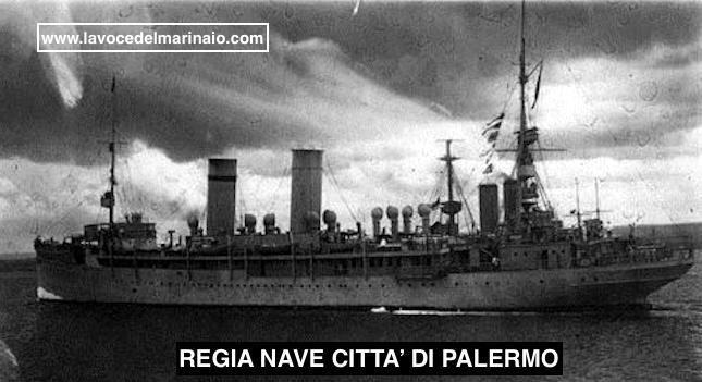 Regia nave Città di Palermo - FOTO U.S.M.M. www.lavocedelmarinaio.com