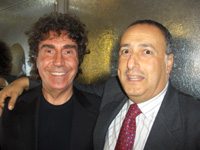 Stefano D'Orazio e Ezio Vinciguerra