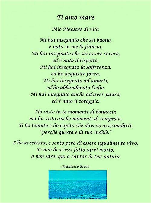 Ti amo mare (Francesco Greco)