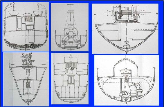 alcune sezioni trasversali del RD 37 - www.lavocedemarinaio.com