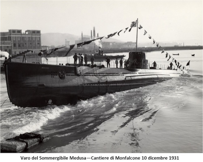 varo regio sommergibile Medusa- www.lavocedelmarinai.com