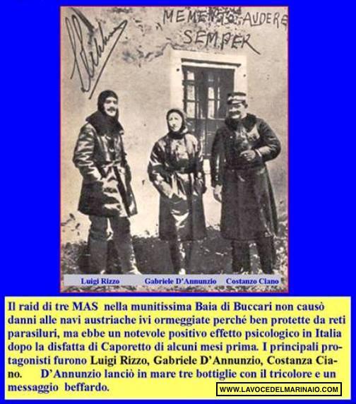 10-11.2.1918 la beffa di Buccari - Copia - www.lavocedelmarinaio.com