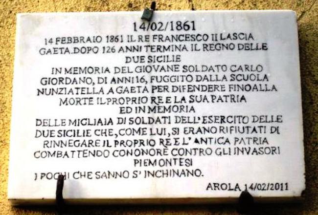 14.2.1861, Carlo Giordano soldato (foto Carlo Di Nitto p.g.c. a www.lavocedelmarinaio.com)