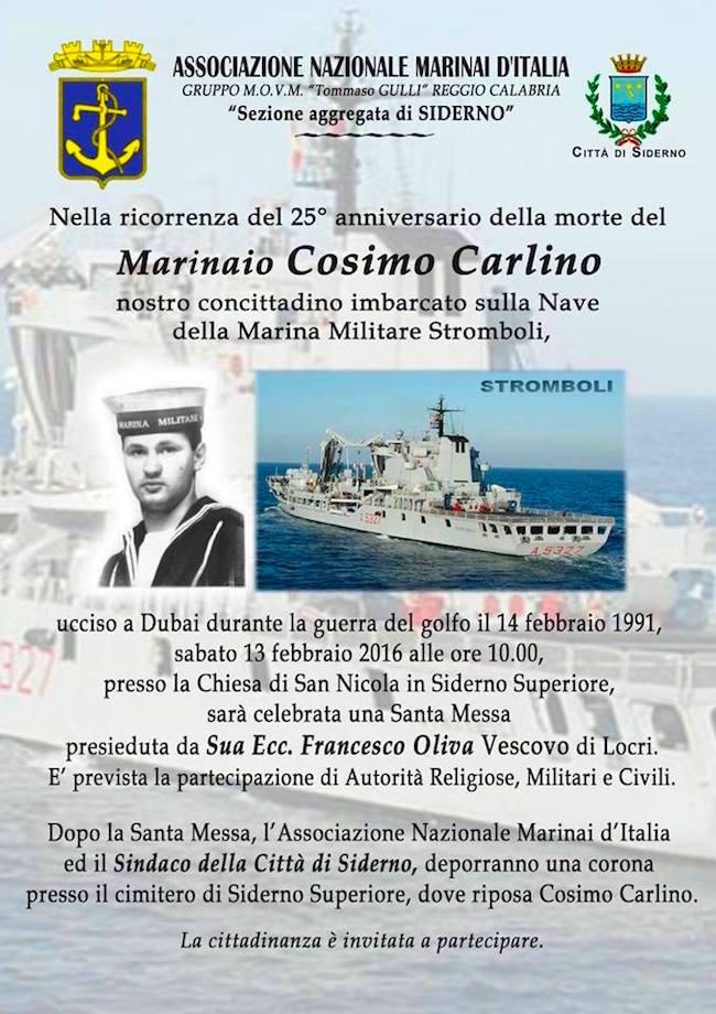 14.2.1991 Marinaio Cosimo Carlino - www.lavocedelmarinaio.com