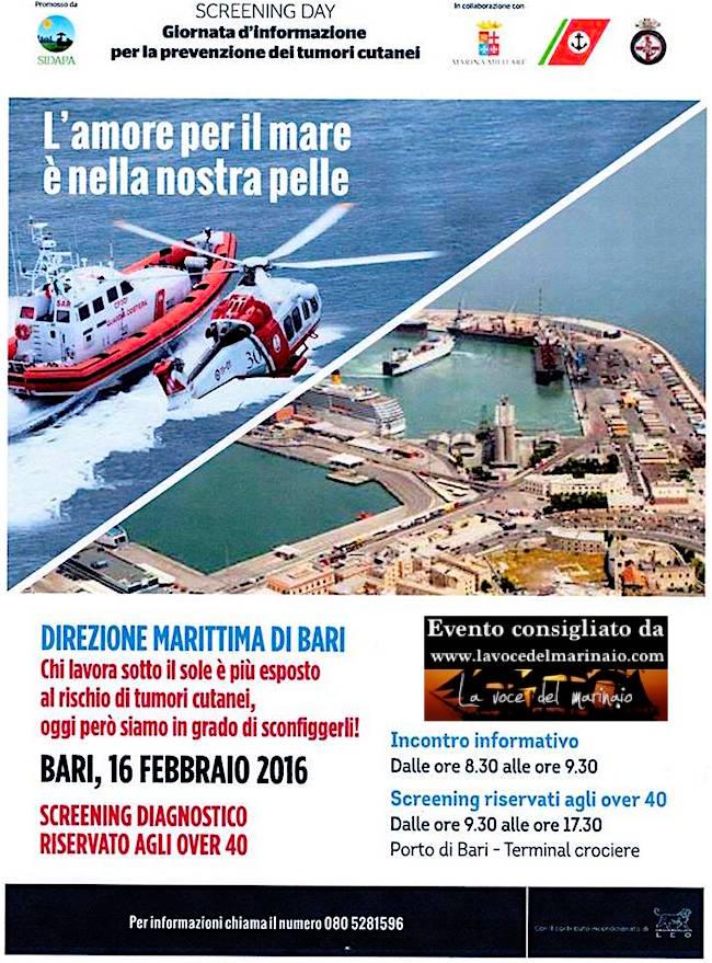 16.2.2015 a Bari - www.lavocedelmarinaio.com