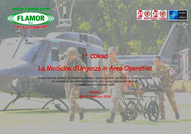 20-21.2.2016 a Novara la medicina d'irgenza in area operativa - www.lavocedelmarinaio.com