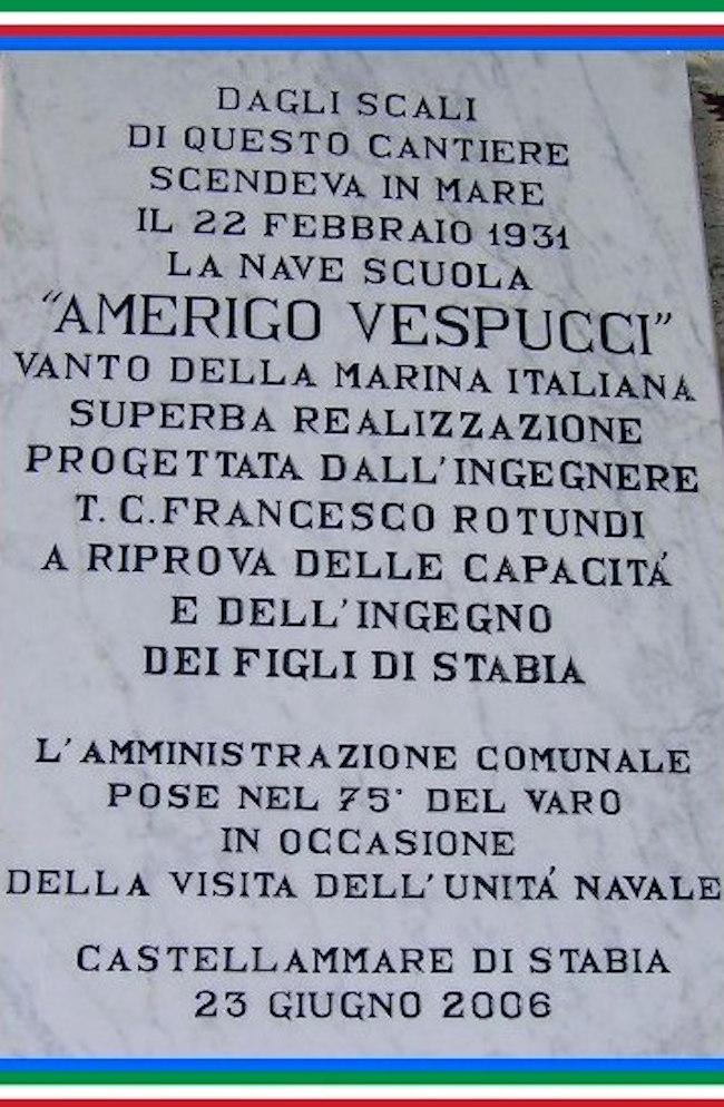 22.2.1931 Castellammare di Stabia a Nave Vespucci  - www.lavocedelmarinaio.com