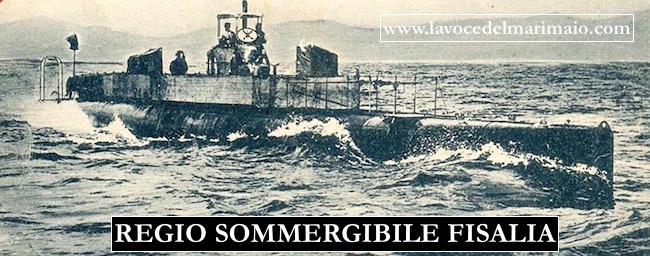 25.2.1912 varo regio sommergibile Fisalia - www.lavocedelmarinaio.com