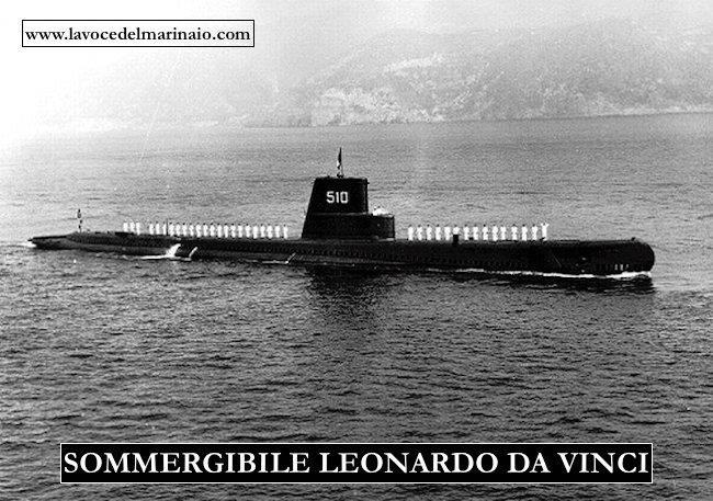 510 sommergibile L. Da Vinci - www.lavocedelmarinaio.com