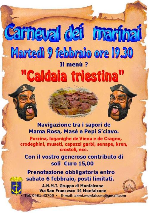 9.2.1016 a Monfalcone carnevale dei marinai - www.lavocedemarinaio.com